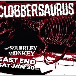 Clobbersaurus w/ Squirley Monkey
